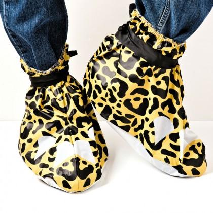 leopard skoskydd