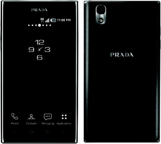 PRADA Phone by LG 3.0 smartphone