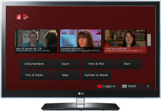 TV4 Play Premium i LG Smart TV