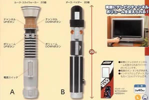 Light Saber Remote Control