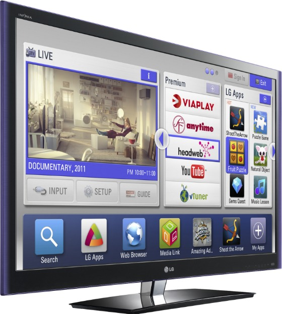 LG TV LW550W