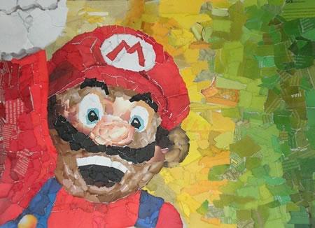 Mario-collage