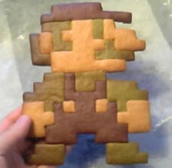 Super Mario Cookie