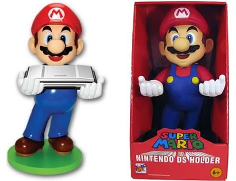 Super Mario-figur som Nintendo DS-hållare