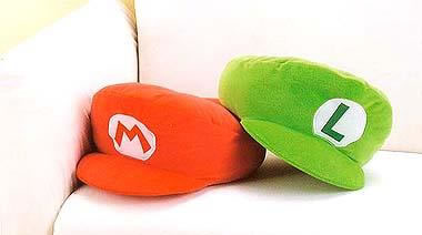 Super Mario Bros Cap Cushion