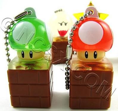 Super Mario-nyckelring