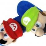 Mario och Luigi som tofflor