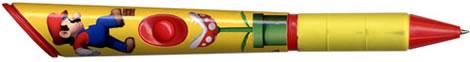 Super Mario-penna med ljud