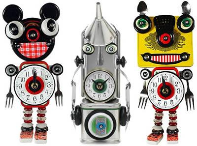 Klockor från Mark Brown