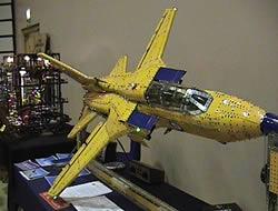 Meccano stridsflygplan