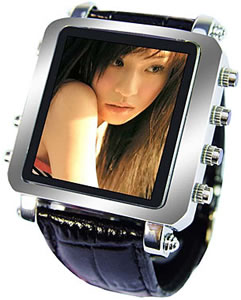 Metallic Video Watch
