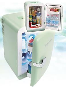 Kyl- och värmeskåp i miniformat