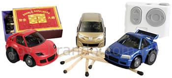 Små radiostyrda bilar