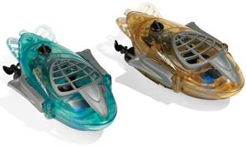 Radiostyrda miniubåtar
