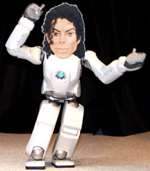 Michael Jackson Robot