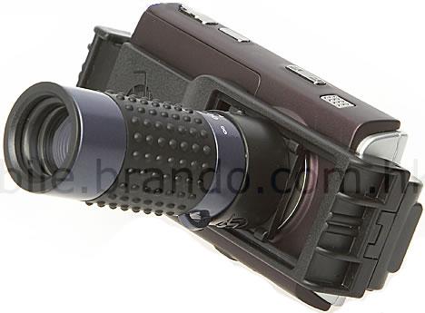 Teleskoplins för mobiltelefon