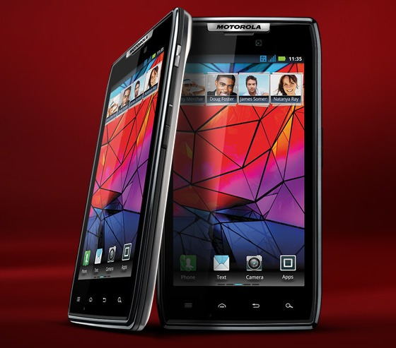 Motorola RAZR – extremt tunn mobil