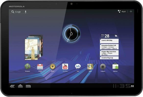 Motorola XOOM med Android 3.0 Honeycomb
