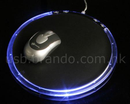Musmatta med USB-hub