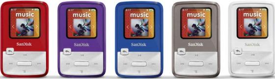 SanDisk Sansa Clip Zip MP3-spelare