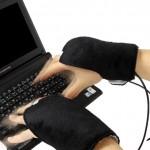 USB-drivna ninjahandskar med värme