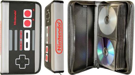 NES handkontroll som CD-fodral