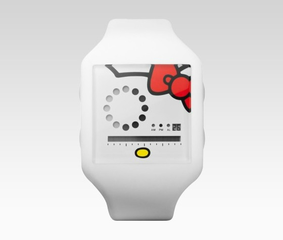 Nooka-klocka med Hello Kitty-design