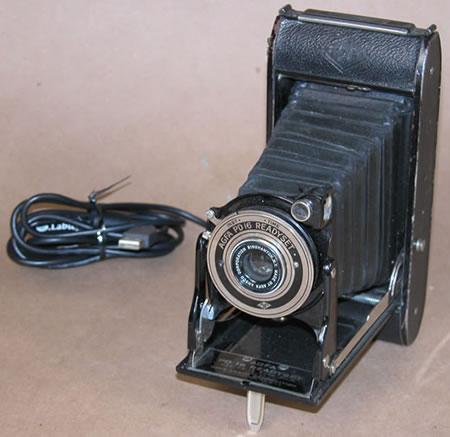 Webbkamera i gammal stil
