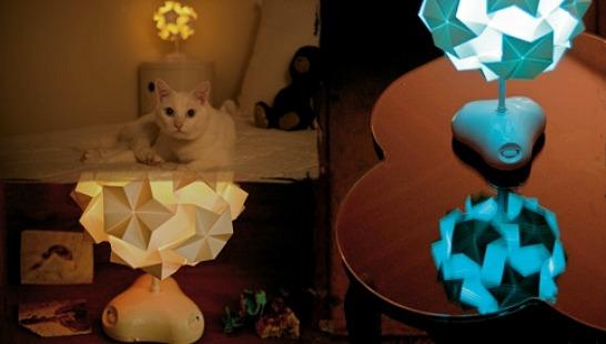 Origamilampa