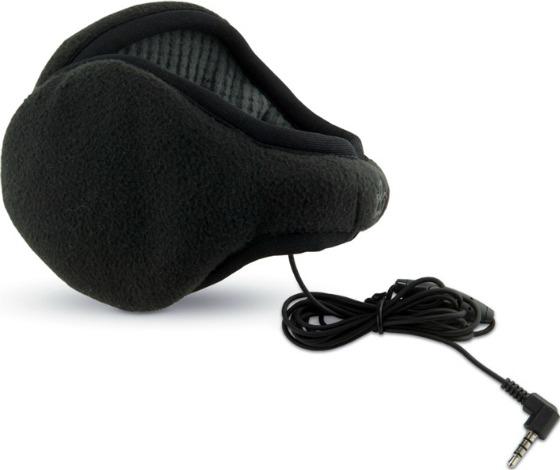 Öronvärmare med inbyggda hörlurar