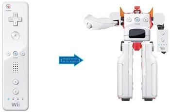 Wiimote Transformer