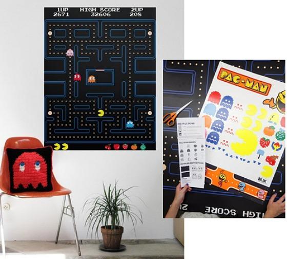 Pac-Man-dekal