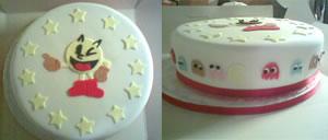 Pac-Man tårta