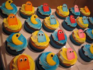 Pac-Man muffins