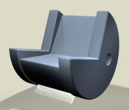 Pac-Man som sittmöbel