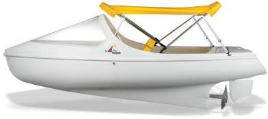 Lyxig trampbåt