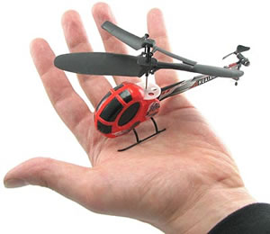 Radiostyrd minihelikopter