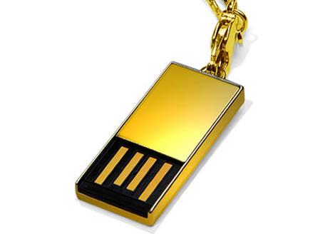 USB-minne i 18 karats guld