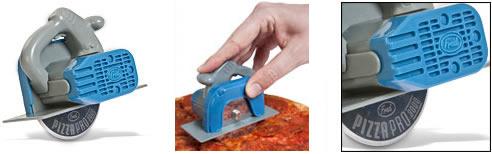 Cirkelsåg för att skära pizza