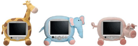 LCD-djur