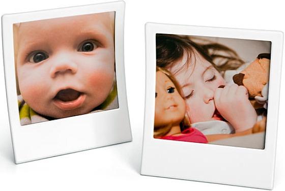 Fotoram i Polaroid-stil