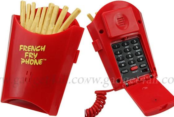 Pommes frites-telefon