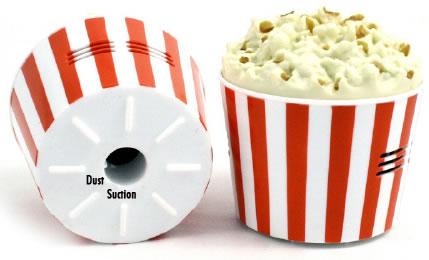 Popcorn minidammsugare