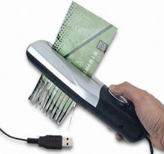 Portabel dokumentförstörare