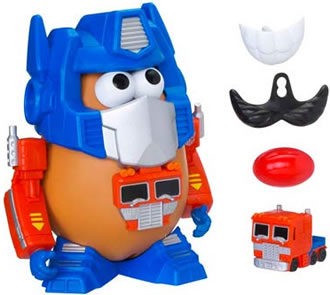 Mr. Potato Head Transformers