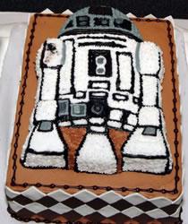 R2-D2-tårta