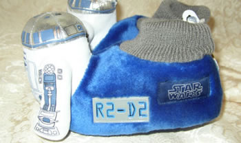 R2-D2 Robot Slippers