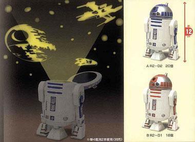 R2-D2 nattprojektor