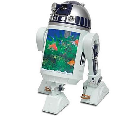 R2-D2 som akvarium