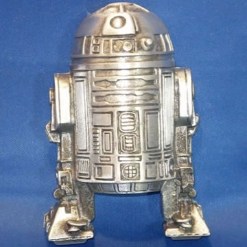 R2-D2 som bältesspänne